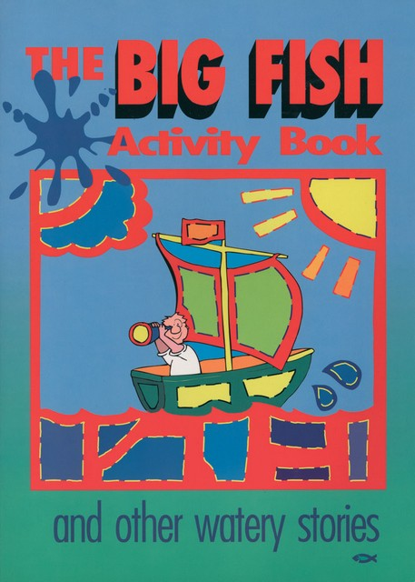 Big fish activity book for Big fish book
