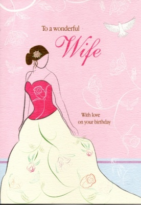 Birthday Card -Wife
