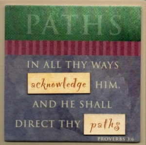 PATHS - Easel Fridge Magnet