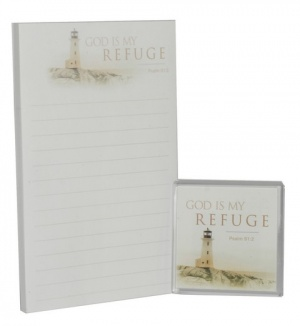 God Is My Refuge - Fridge Magnet Combo