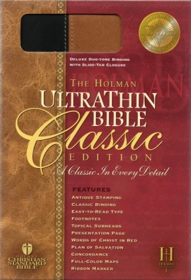 HCSB UltraThin Bible