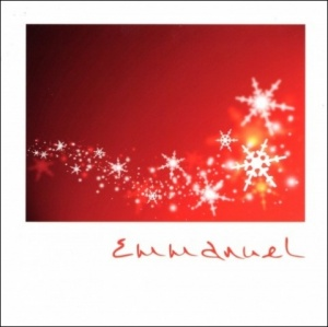 Emmanuel Christmas Cards - Pack of 10