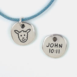 Sheep/John 10:11 Pendant