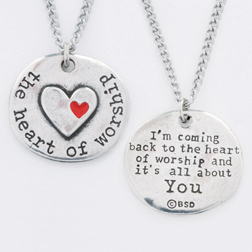 Heart of Worship Pendant