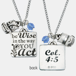 Be Wise w/Owl Pendant