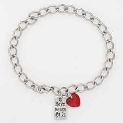 Love Never Fails Bracelet