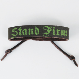 Stand Firm Leather Bracelet