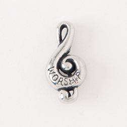 Music Clef Lapel Pin