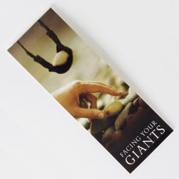 Facing your Giants - Page Hugger Bookmark