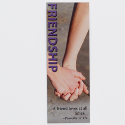 Friendship Proverbs 17:17A Page Hugger Bookmark