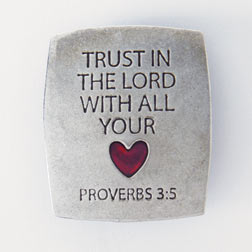 Trust In The Lord Fridge Magnet