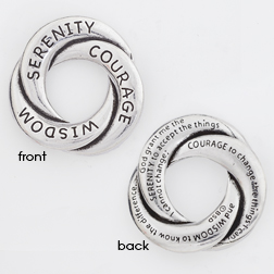 Serenity Prayer Pocket Token