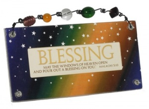 BLESSING - Bead Plaque