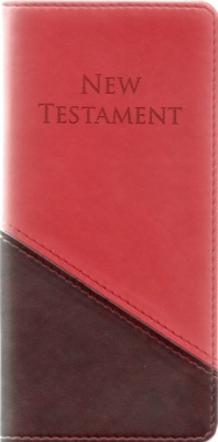 KJV Slimline Pocket Paragraphed New Testament