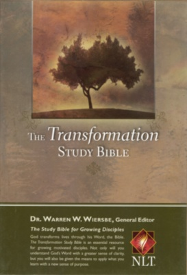 NLT Transformation Thumb Index Study Bible