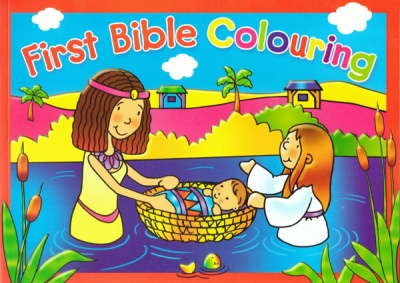 First Bible Colouring