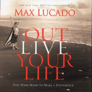 Out Live Your Life - Audio Book on CD