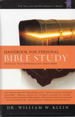 Handbook for Personal Bible Study