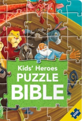 Kids' Heroes Puzzle Bible