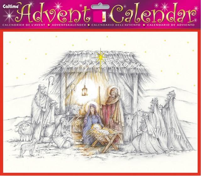 Nativity Advent Calendar Lovechristianbooks Com