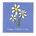 Mother's Day - Blue Daisies