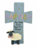 Baptism Cross (Blue)