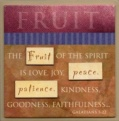 FRUIT - Easel Fridge Magnet