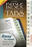 Horizontal, Gold Edged, XL Print Bible Tabs