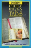 Gold Edged Bible Tabs (Blue Packaging), Horizontal
