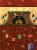 Christmas Stockings Christmas Cards - Pack of 10