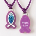 Fish/Matt 4:19 Pendant