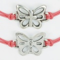 Butterfly w/Cross Bracelet