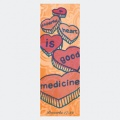 Cheerful Heart is Good Medicine Proverbs 17:22 Page Hugger Bookmark