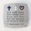 Faith-Hope-Love Fridge Magnet