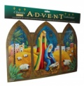 Jesus Mary and Joseph Classic Advent Calendar