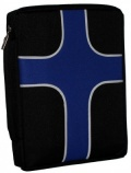 Blue Cross Large Bible Cover
