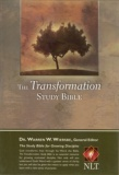NLT Transformation Study Bible (Black)
