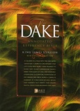 KJV Dake Annotated Reference Bible (Gen.Leather - Black)