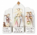 Light Up 3 Piece Resin Nativity