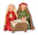 Lord is Come Manger...Resin Nativity