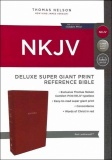 NKJV Deluxe Super Giant Print Reference Bible