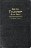 KJV New Thompson Zipped Study Bible
