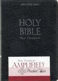 Amplified Pocket Thin New Testament