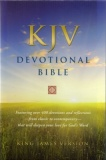 KJV Devotional Bible (Black)