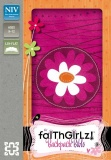 NIV FaithGirlz Backpack Bible