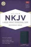 NKJV Large Print Personal Size Reference Thumb Index Bible