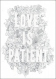 Love is Patient - Greetings Card (White)