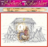 Nativity Advent Calendar & Advent Candle