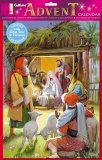 Shepherds at the Stable Bible Reference Advent Calendar