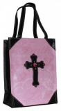 Jeweled Cross Tote